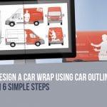 Design a Car Wrap using Car Outlines