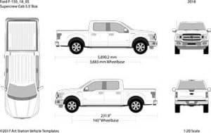 Pickup-Truck Outline